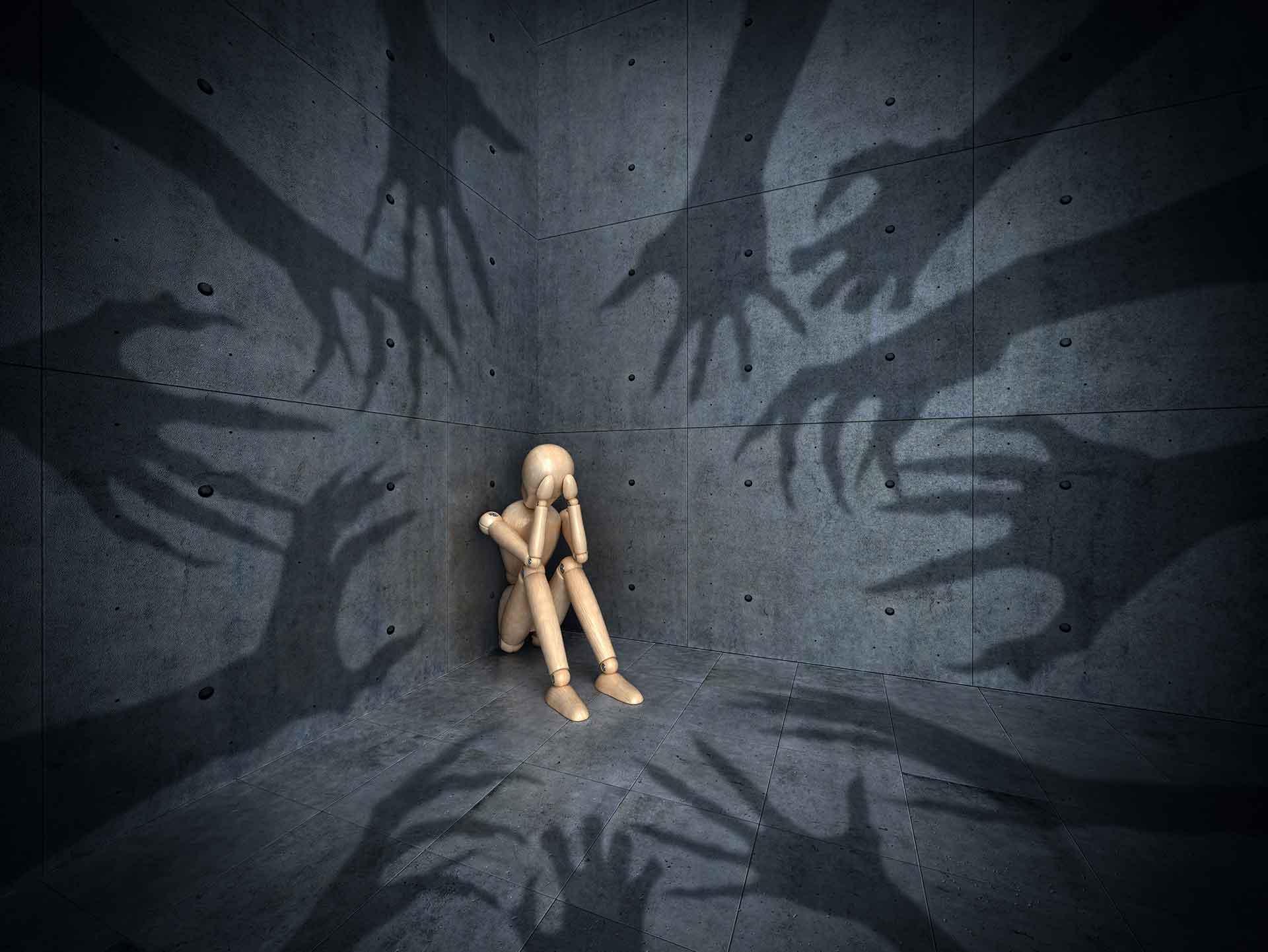 Illustrasjon av fobier
