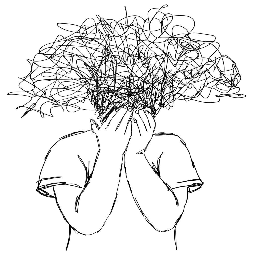 Illustrasjon av stress
